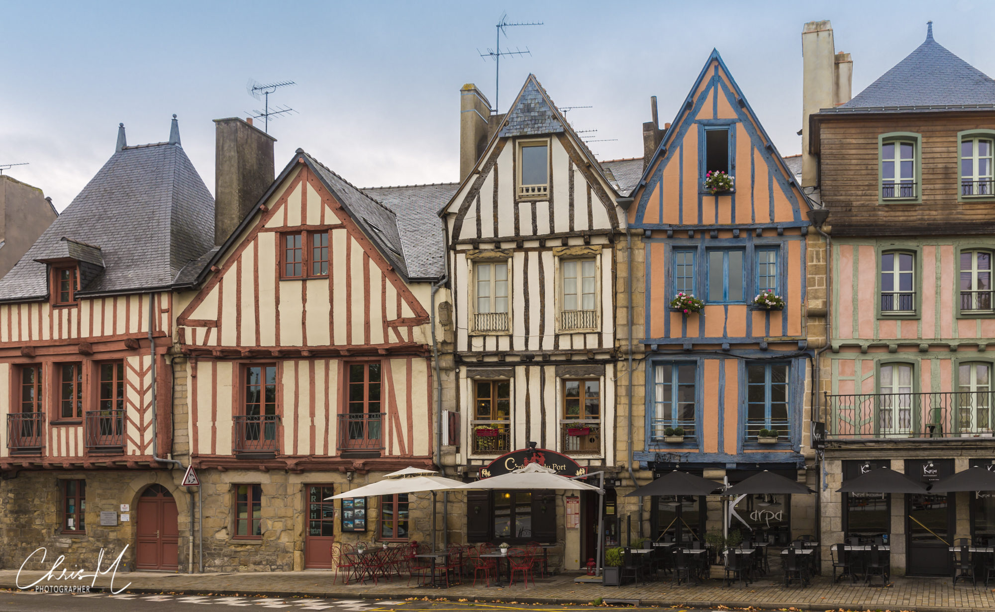 Houses, Vannes, France